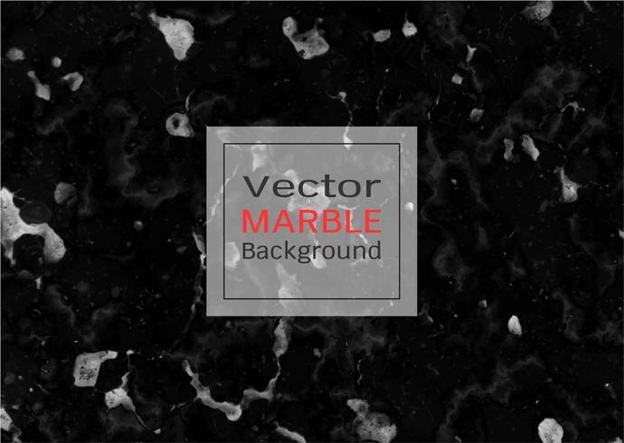 Vektor svart marmor textur.