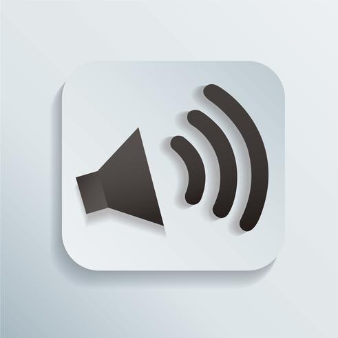 Sound-Symbol-Vektor-Illustration vektor