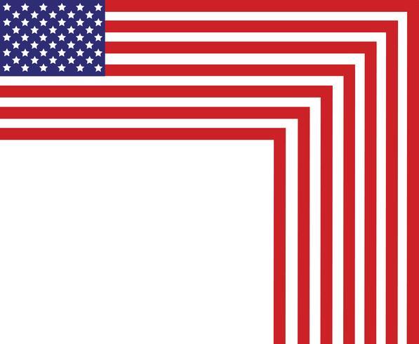 Flagge der Vereinigten Staaten von Amerika, USA-Flagge, Amerika-Flaggenzusammenfassungshintergrund vektor