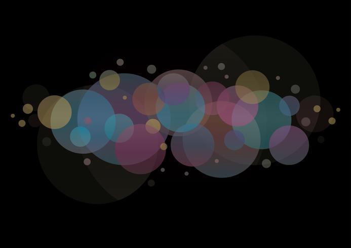 abstrakter runder Kreishintergrund vektor