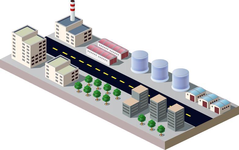 Industriegebäude vektor