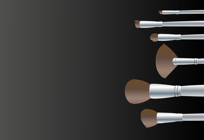 Make-up bearbeitet Hintergrundvektor vektor