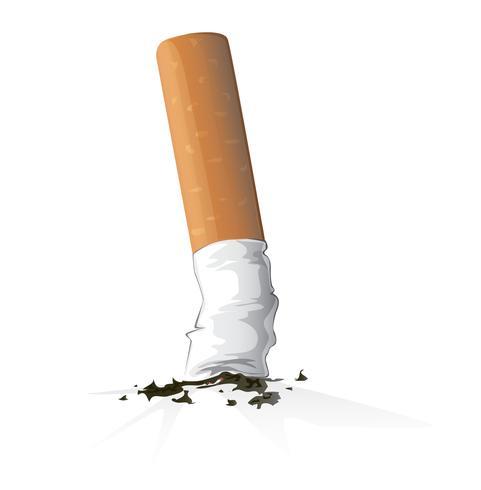 cigarettvektor, rökning vektor