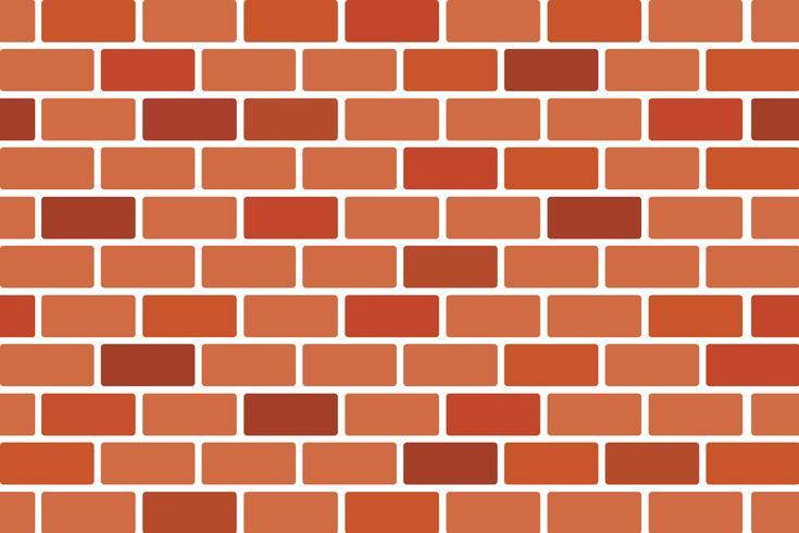 Abstrakter Hintergrund der Brown-Backsteinmauer - Vector Design