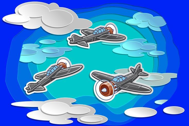 flygande. vektor