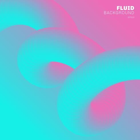Modische vibrierende Steigungsfarbe des abstrakten modernen Hintergrundes. vektor