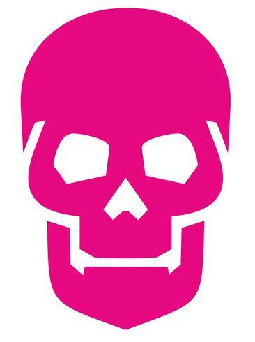 Emblem mit Totenkopf vektor
