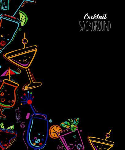 Cocktailparty vektor illustration.