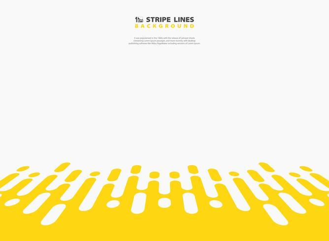 Abstrakte gelbe Farbstreifenmuster des Technologiehintergrundes. Abbildung Vektor eps10