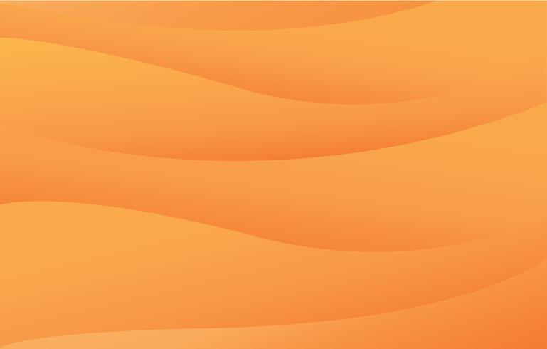 abstrakt öken landskap bakgrund vektor illustration