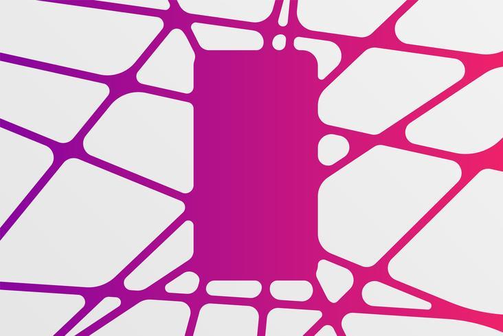 Abstrakt färgstark mall mönster, vektor illustration