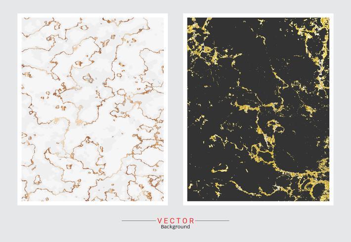 Guld marmor textur bakgrund. vektor