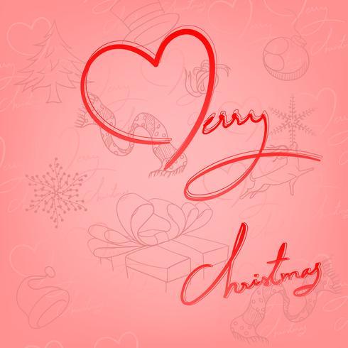 Fröhliche Weihnachten vektor