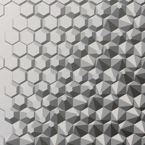 Polygon abstrakt bakgrund vektor