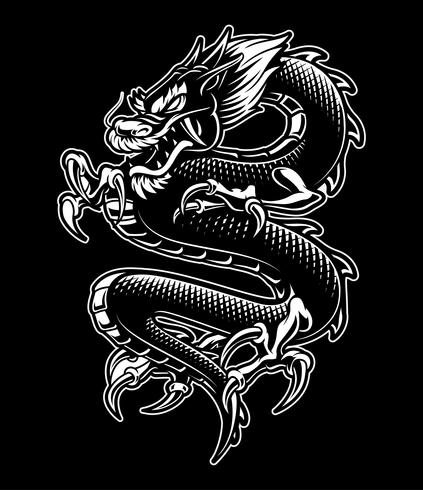 Drachen vektor