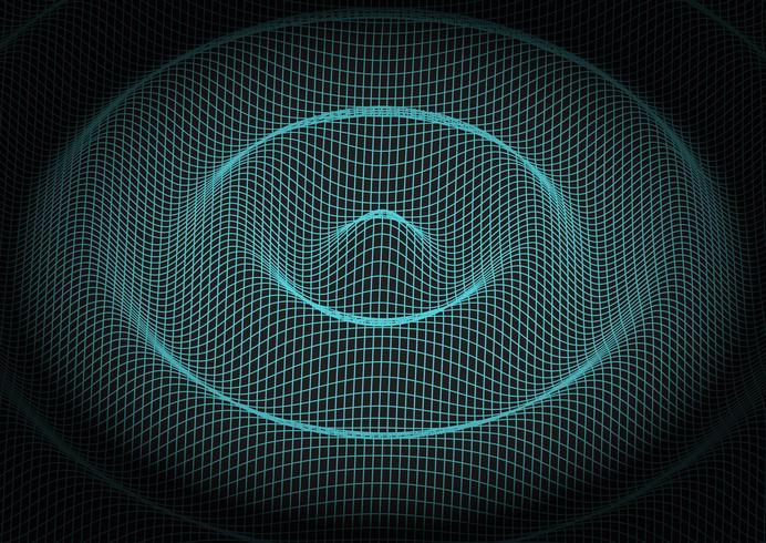 Abstrakter Rasterfeldtechnologiehintergrund vektor