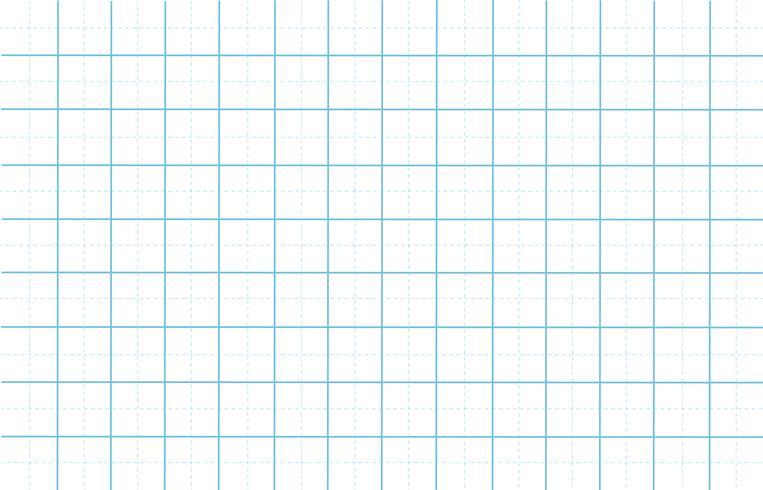 streckad rutnät papper med vit mönster bakgrund vektor