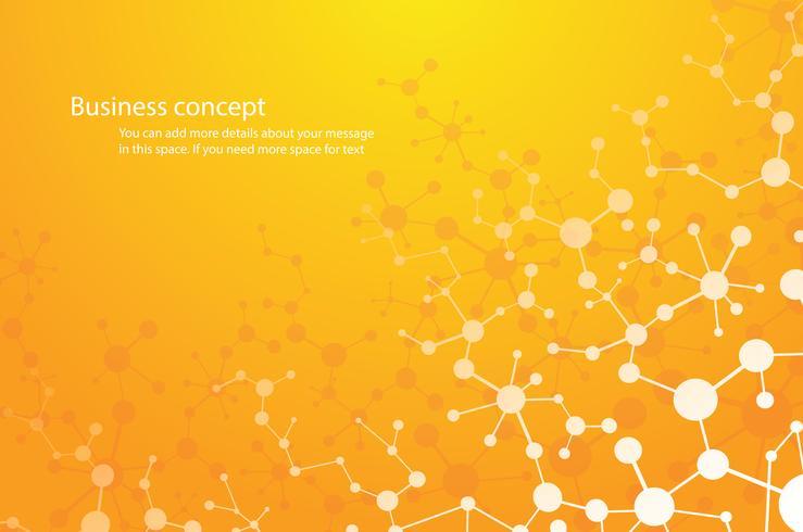 vetenskap bakgrund, molekyl bakgrund genetiska och kemiska föreningar medicinsk teknik eller vetenskaplig. koncept för din design. vektor