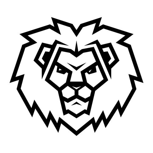 Lowenkopf Logo Vorlage Hand Gezeichnete Kreative 15