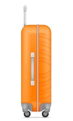 Plastikreisetasche Vektor-Illustration vektor