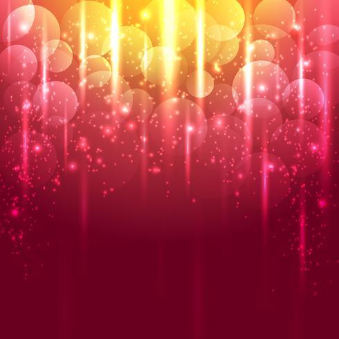 Helles Gold und roter abstrakter Vektorhintergrund vektor