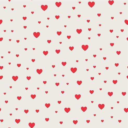 Sömlös mönster bakgrund. Abstrakt och modernt begrepp. Geometrisk kreativ design snyggt tema. Illustration vektor. Rosa och röd färg. Hjärtform för Alla hjärtans dag och bröllopshändelser vektor