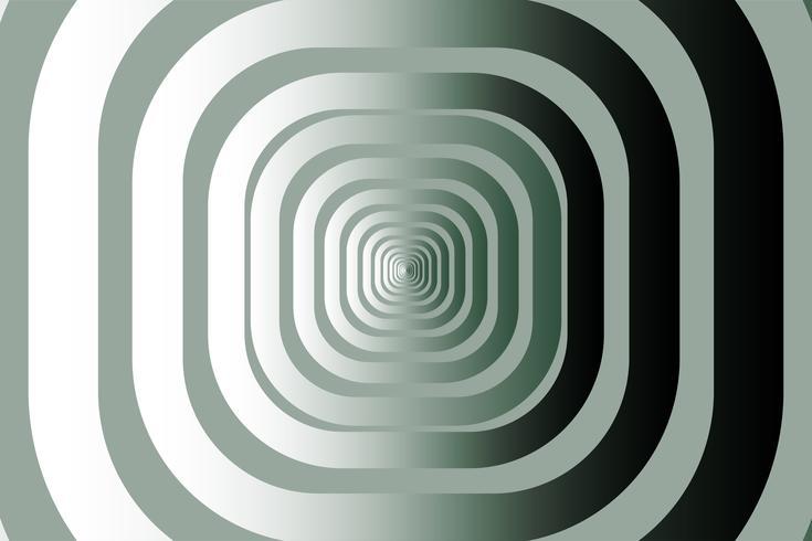 Grön rundad rektangel form vektor bakgrund