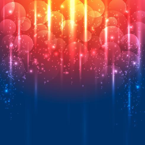 Helles Gold und blauer abstrakter Vektorhintergrund vektor