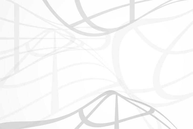 Weißer abstrakter Hintergrundvektor. Grau abstrakt. Hintergrund des modernen Designs für Berichts- und Projektpräsentationsschablone. Vektor-Illustration Grafik. Punkt- und Kreisform. Produktwerbung vorhanden vektor