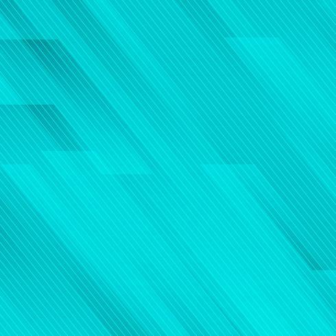 Abstrakt geometrisk snett med linjer blå turkos bakgrundsteknologi stil. vektor