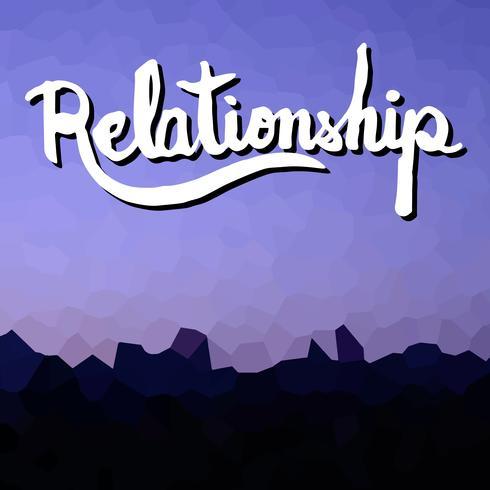 Beziehung vektor