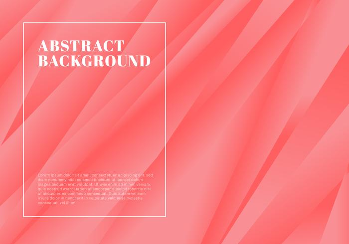 Kreativ mall abstrakt rosa rand bakgrund och konsistens. vektor