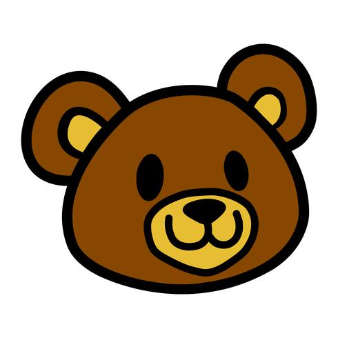 Niedlicher Teddybär vektor