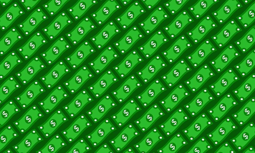 Dollarschein-Vektor-Illustration vektor