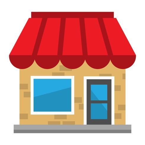 Geschäftsschaufenster vektor