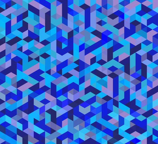 Lila trekantigt nät vektor
