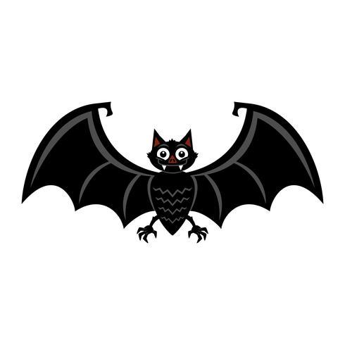 Fledermaus-Vektor-Symbol vektor