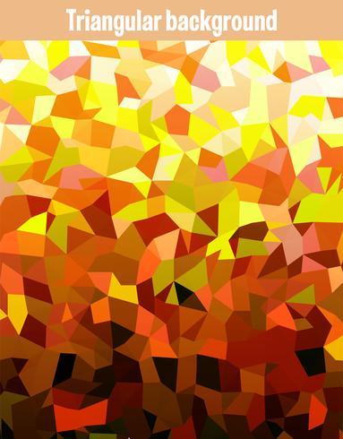 Gyllene triangeln vektor