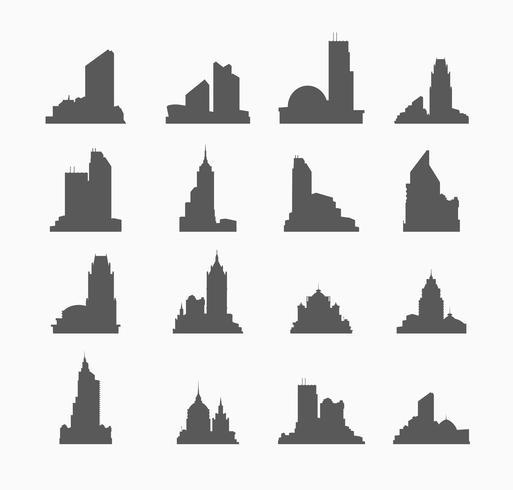 stadsbyggnad vektor