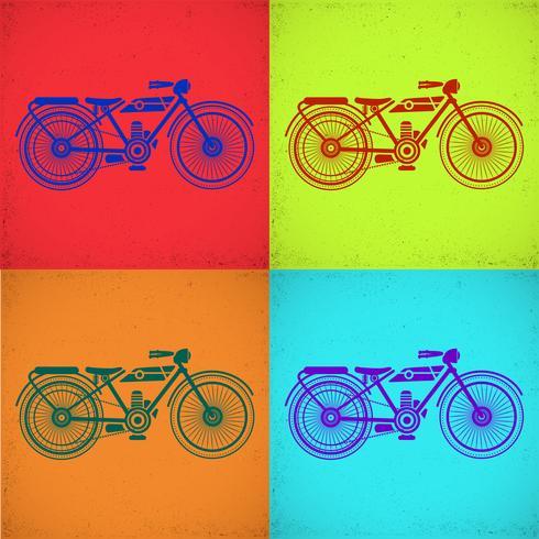 Motorrad Bild vektor