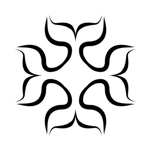 Killerwal-Schwertwalillustration vektor