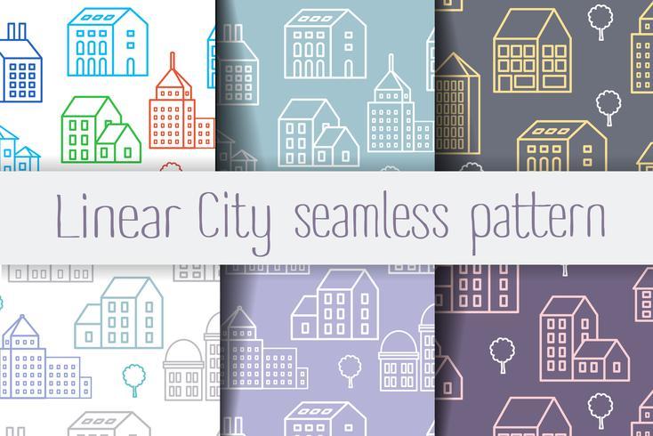 City Line nahtlos vektor