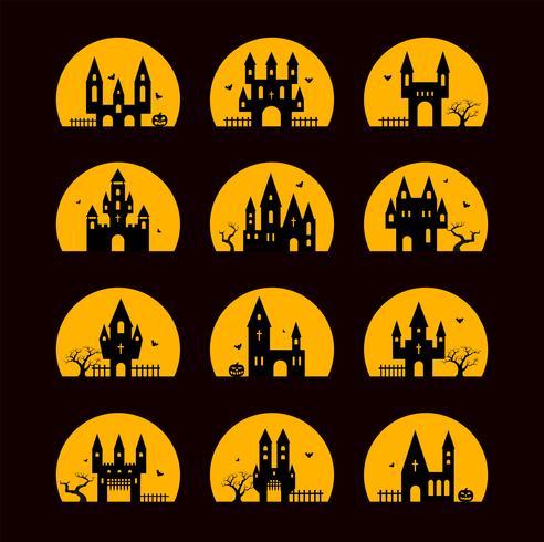 Halloween Silhouetten vektor