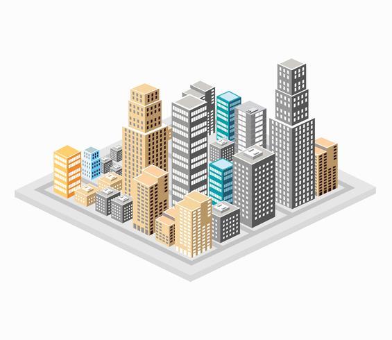 Hintergrund der Stadt vektor