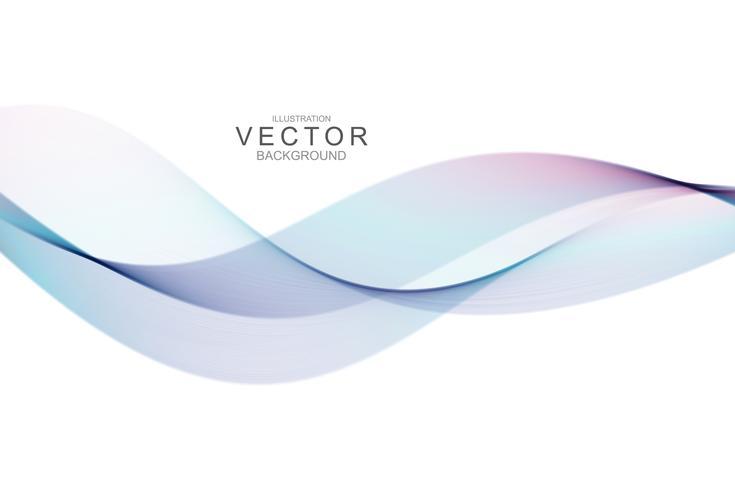 Rök abstrakt bakgrund med kurvform. vektor
