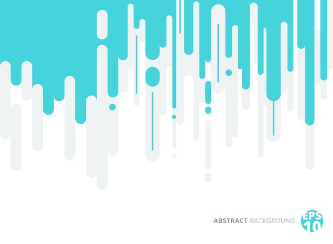 Abstrakt blå och grå rundad linjär vertikal halvtonövergång bakgrund. vektor