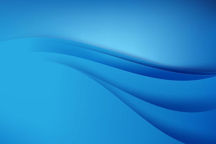 Abstrakt blå bakgrund mörk kurva 001 vektor