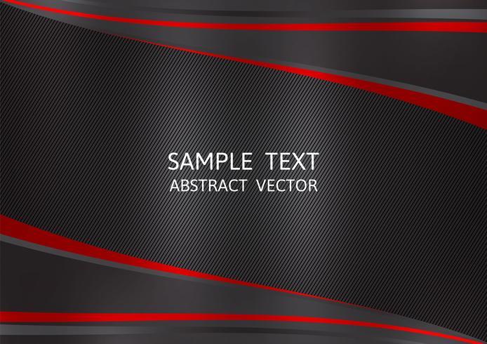 Svart och röd färg abstrakt vektor bakgrund med kopia utrymme. Grafisk design