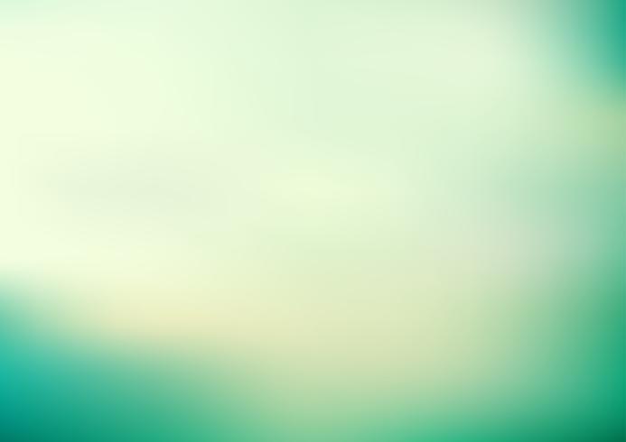 Abstrakt grön turkosfärg slät suddig bakgrund. vektor