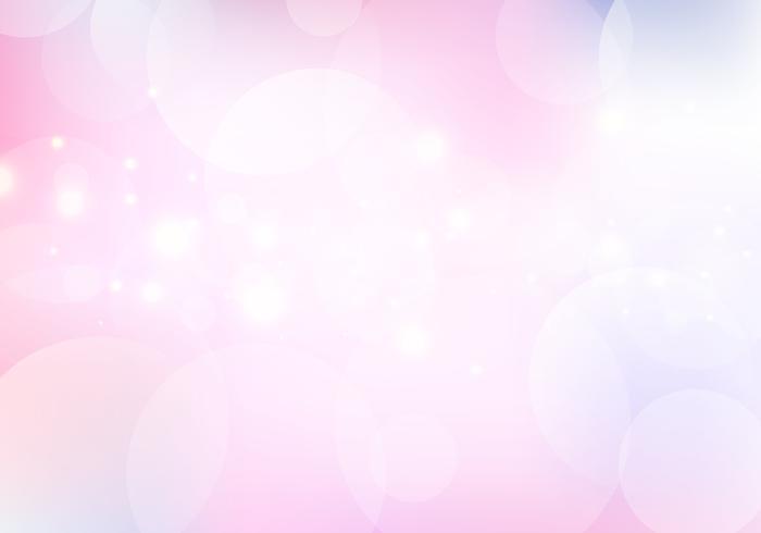 Glühendes Sonnenlichtaufflackern und -bokeh der abstrakten Natur mit Pastellfarbglattem unscharfem Hintergrund vektor